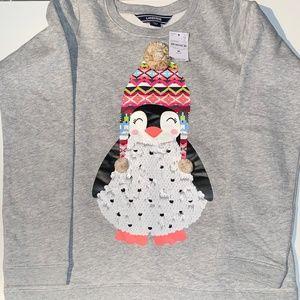 🎆 5 for $25 Lands' End Flip Sequin Sweatshirt
